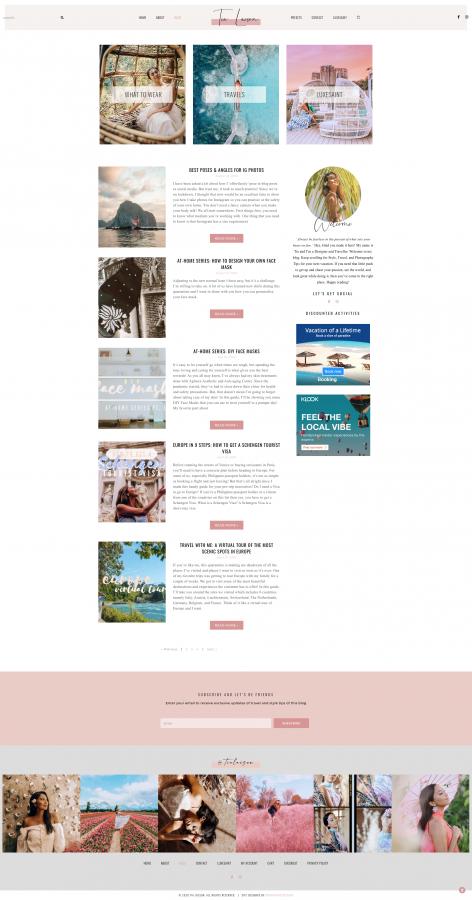 Tia Lacson Blog Page