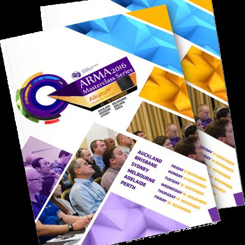 ARMA Masterclass Series Brochure