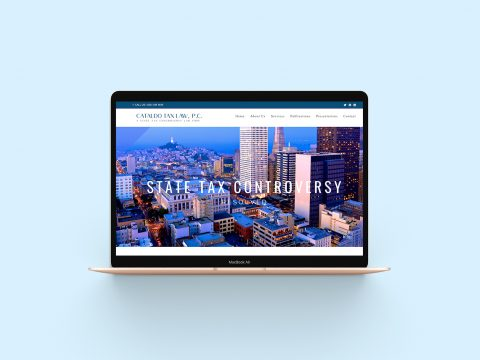 Portfolio BRIGHTSAND-designs-Cataldo-Tax-Law-Website