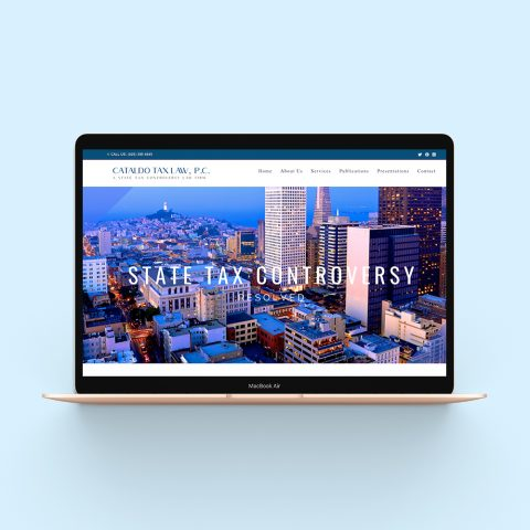 Portfolio BRIGHTSAND-designs-Cataldo-Tax-Law-Website