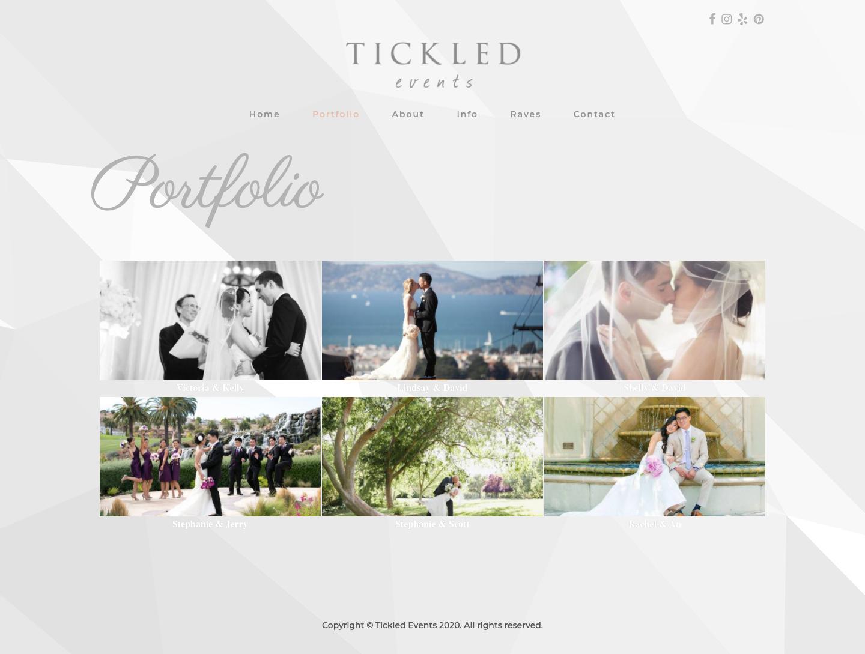 Tickled Events Portfolio