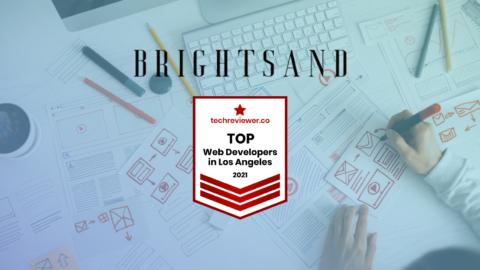 BRIGHTSAND Designs Top Web Development Los Angeles