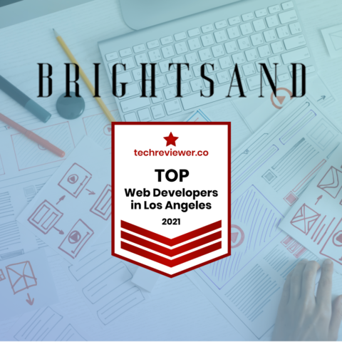 BRIGHTSAND Designs Top Web Development Los Angeles