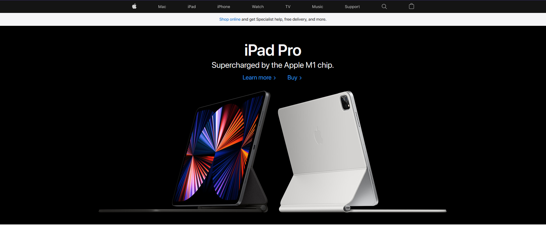 apple website an example of an ecommerce